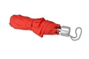"""Зонт складной """"Tempe"""", механический, 3 сложения, с чехлом, красный"""