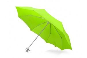 """Зонт складной """"Tempe"""", механический, 3 сложения, с чехлом, зеленое яблоко"""
