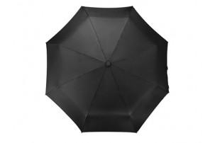 """Зонт складной """"Tempe"""", механический, 3 сложения, с чехлом, черный"""