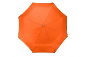 """Зонт складной """"Tempe"""", механический, 3 сложения, с чехлом, оранжевый"""