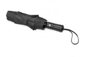 """Зонт складной """"Ontario"""", автоматический, 3 сложения, с чехлом, черный"""