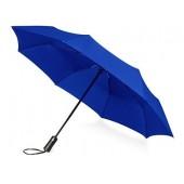 """Зонт складной """"Ontario"""", автоматический, 3 сложения, с чехлом, темно-синий"""