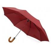 """Зонт складной """"Cary """", полуавтоматический, 3 сложения, с чехлом, бордовый"""