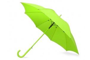 """Зонт-трость """"Color"""" полуавтомат, зеленое яблоко"""