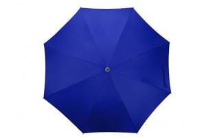 """Зонт-трость """"Color"""" полуавтомат, темно-синий"""