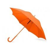 """Зонт-трость """"Color"""" полуавтомат, оранжевый"""