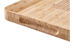 Доска разделочная Cut & Carve Bamboo, натуральный
