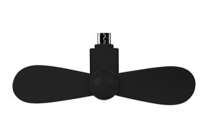 Вентилятор Airing микро ЮСБ, черный
