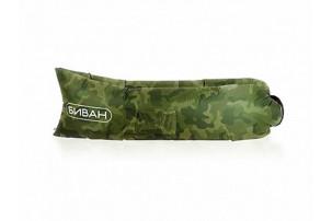 Надувной диван «Биван», хаки