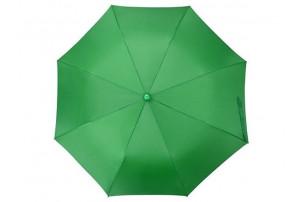"""Зонт складной """"Tulsa"""", полуавтоматический, 2 сложения, с чехлом, зеленый"""