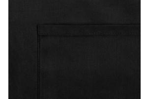 Хлопковый фартук 180gsm, черный