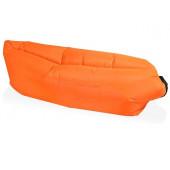Надувной диван «Биван», оранжевый