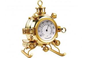 Настольный термометр «Батискаф», золотистый