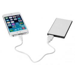 Портативное зарядное устройство «Slim Credit Card», 2000 mAh