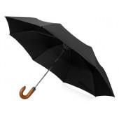 """Зонт складной """"Cary """", полуавтоматический, 3 сложения, с чехлом, черный"""