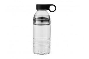 "Бутылка спортивная ""Slice"" на 600 мл, черный/серый"