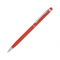 Ручка-стилус металлическая шариковая «Jucy Soft» soft-touch